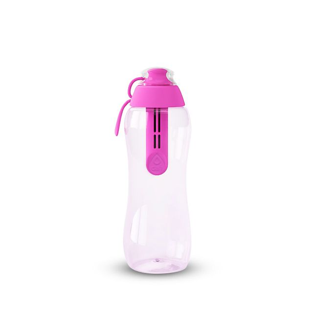 Butelka filtrująca DAFI 0,3L +1 (różowa)
