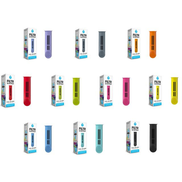 Filtr do butelki Dafi - pakiet kolorystyczny 10 filtrów (10x1szt.)