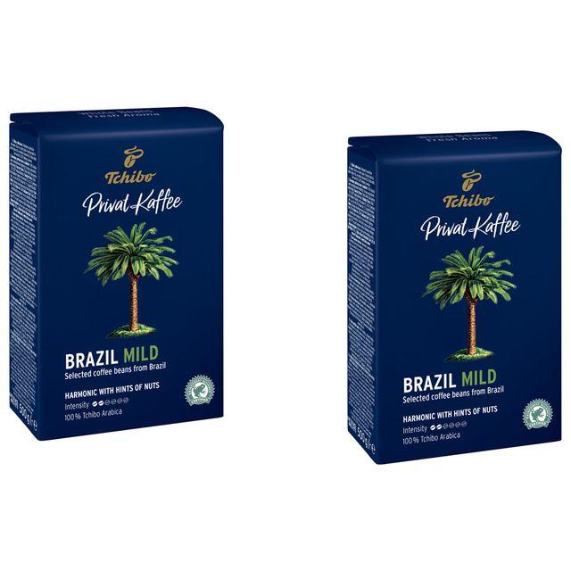 Kawa ziarnista Tchibo Privat Kaffee Brazil Mild 2x500g