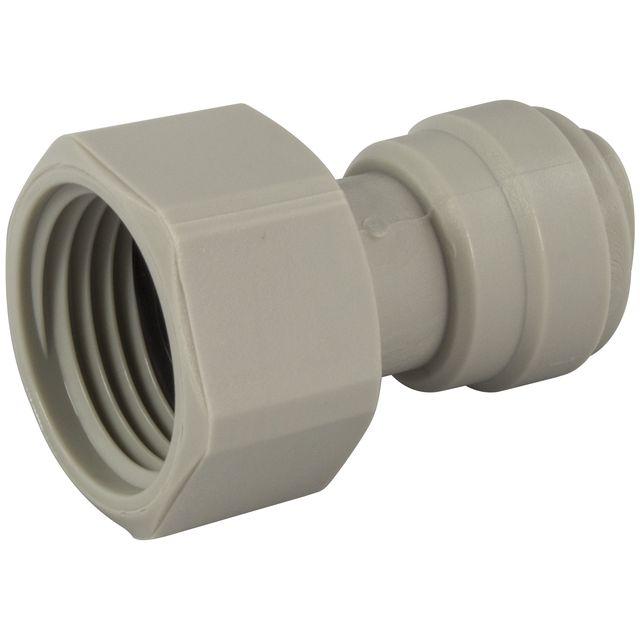 """Złączka żeńska DMFit AFAB0607F (3/8"""" tube x 1/2"""" BSP(P) flat inside)"""