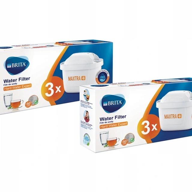 Filtr wody wkład do dzbanka Brita Maxtra+ Hard Water Expert 2x3szt.