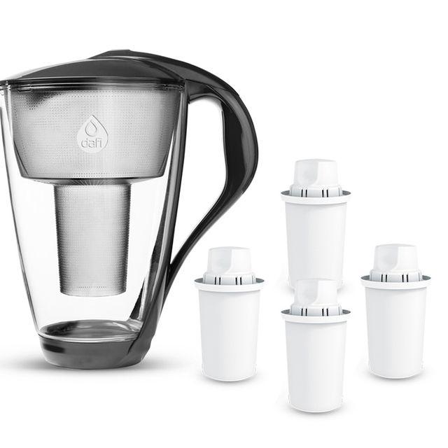 Dzbanek filtrujący Dafi Crystal (grafitowy) +4 filtry Dafi Classic