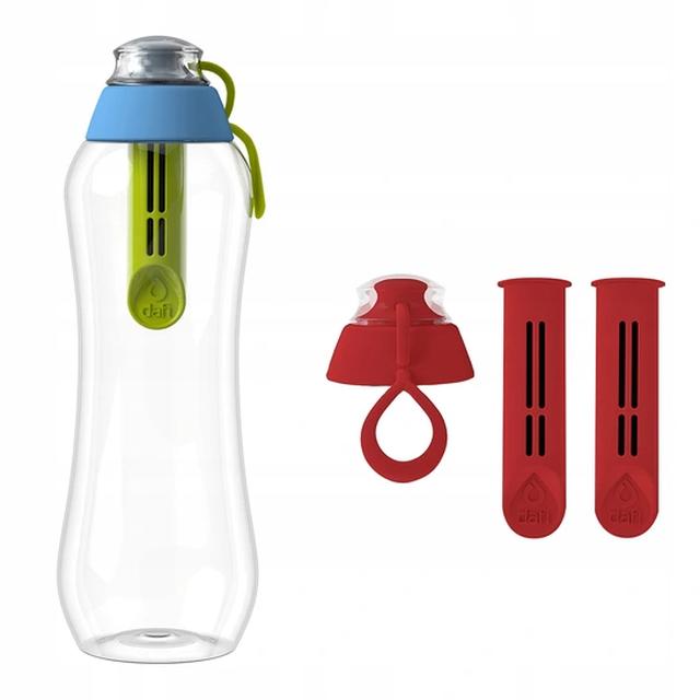 Butelka filtrująca DAFI 0,5L +1 (hybryda) Limitowana Edycja + 2-pack filtrów makowych