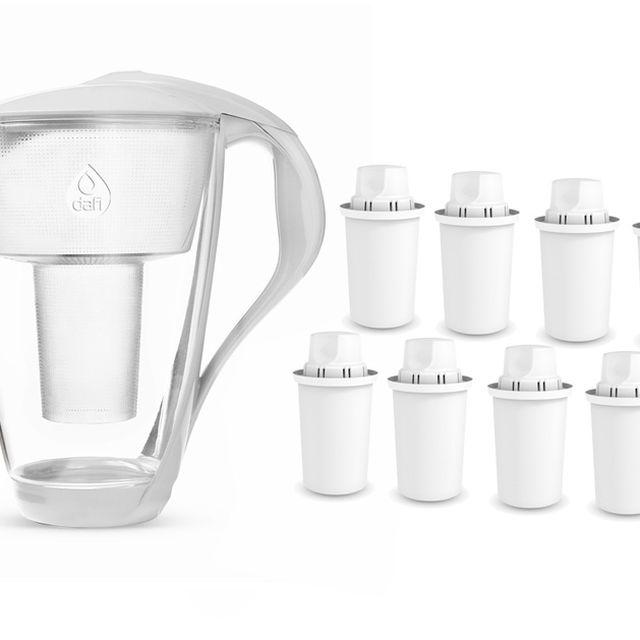 Dzbanek filtrujący Dafi Crystal (biały) +8 filtrów Dafi Classic