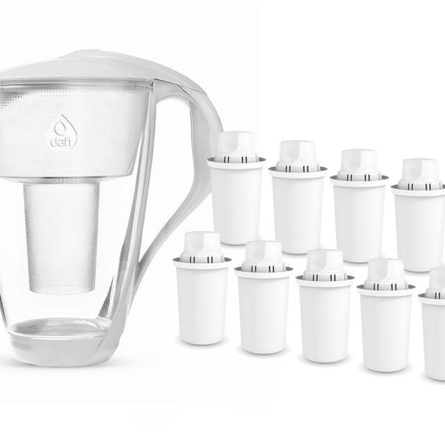 Dzbanek filtrujący Dafi Crystal (biały) +10 filtrów Dafi Classic