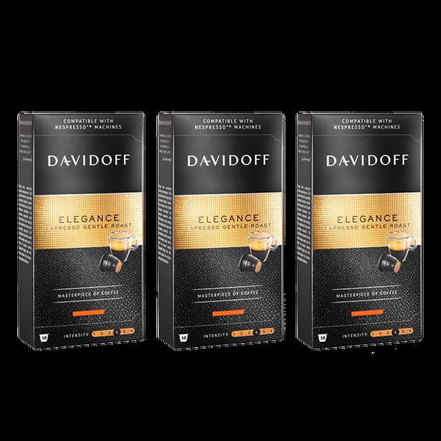Kapsułki Davidoff Elegance do systemu Nespresso 3x10szt.