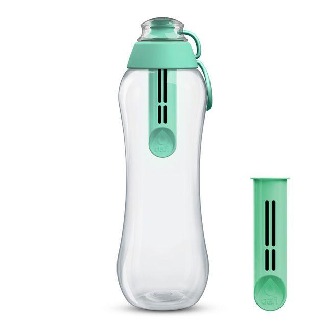 Butelka filtrująca DAFI 0,7L +2 (miętowa)