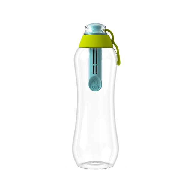 Butelka filtrująca DAFI 0,5L +1 filtr w zestawie - Limitowana Edycja (mięta / limonka)