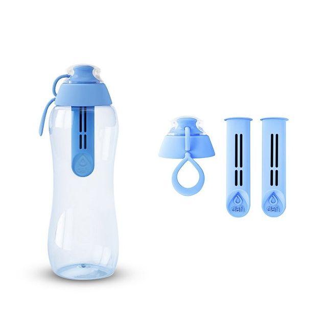 Butelka filtrująca DAFI 0,3L +3 filtry (niebieska)