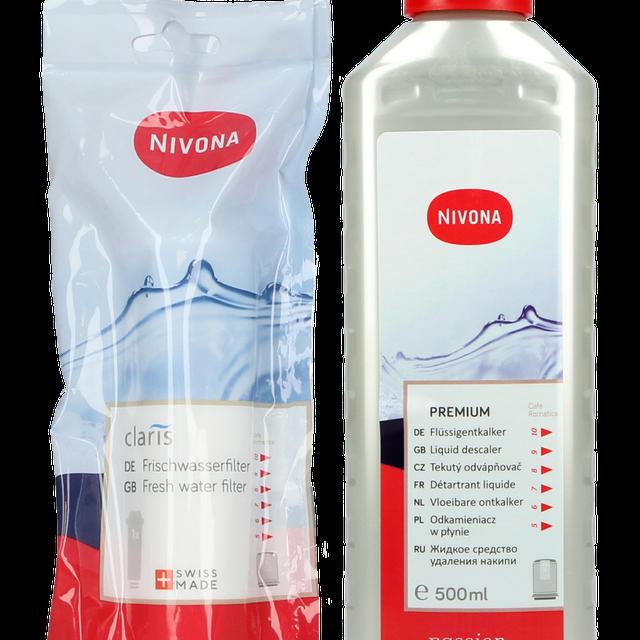 Zestaw do konserwacji ekspresu Nivona: filtr NIRF700 +odkamieniacz NIRK703