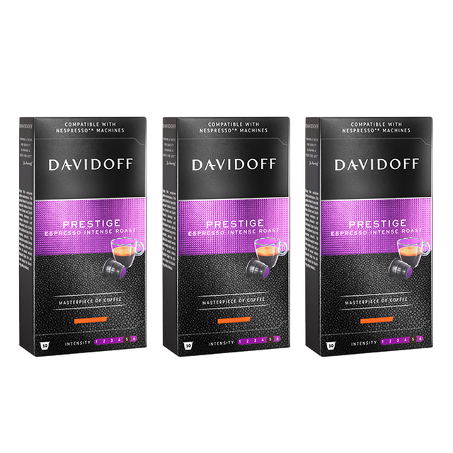 Kapsułki Davidoff Prestige do systemu Nespresso 3x10szt.