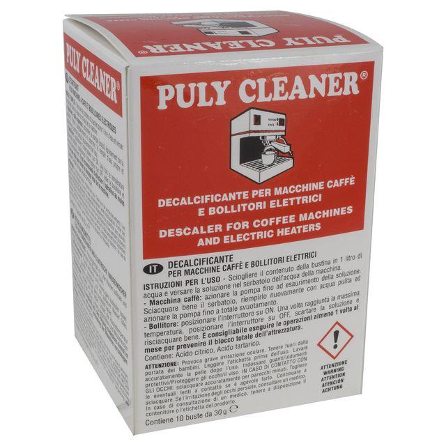 Uniwersalny odkamieniacz do ekspresów PULY CLEANER Descaler 10x30g