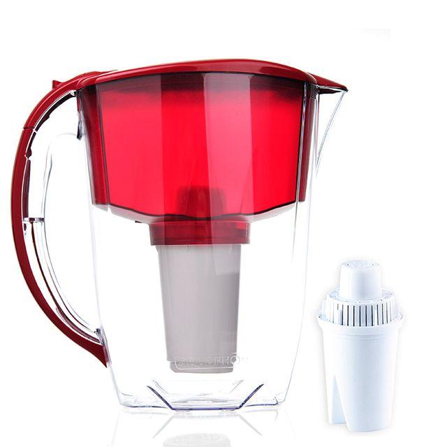 Dzbanek filtrujący Aquaphor Prestige +1 filtr B100-5 (czerwony)