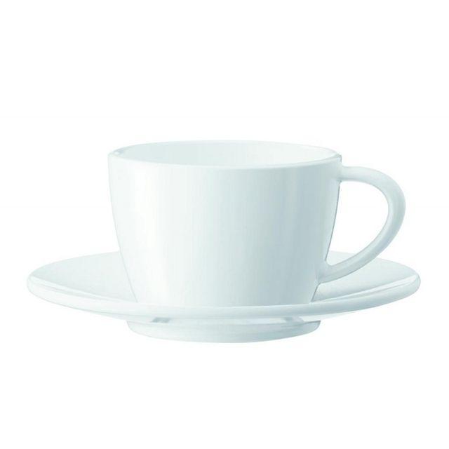 Zestaw porcelanowych filiżanek i spodków do cappuccino Jura (2szt.) 66501