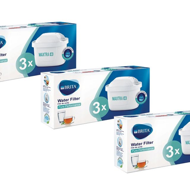 Filtr wody wkład do dzbanka Brita Maxtra+ Pure Performance 3x3szt.