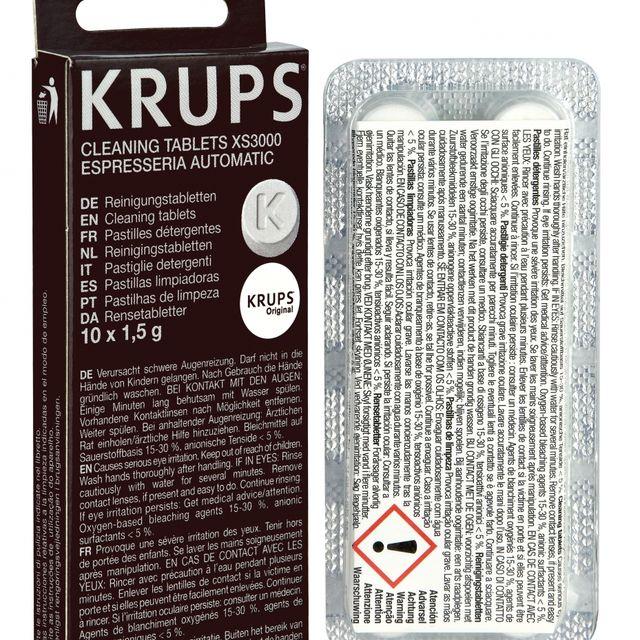 Tabletki czyszczące do ekspresu Krups XS3000 (10 szt.)