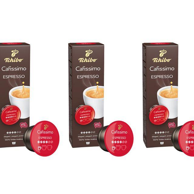 Kawa kapsułki Tchibo Cafissimo Espresso Elegant Aroma 3x10 kaps.