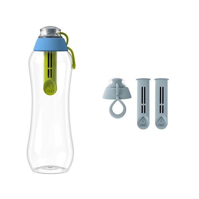 Butelka filtrująca DAFI 0,5L +1 (hybryda) Limitowana Edycja + 2-pack filtrów stalowych