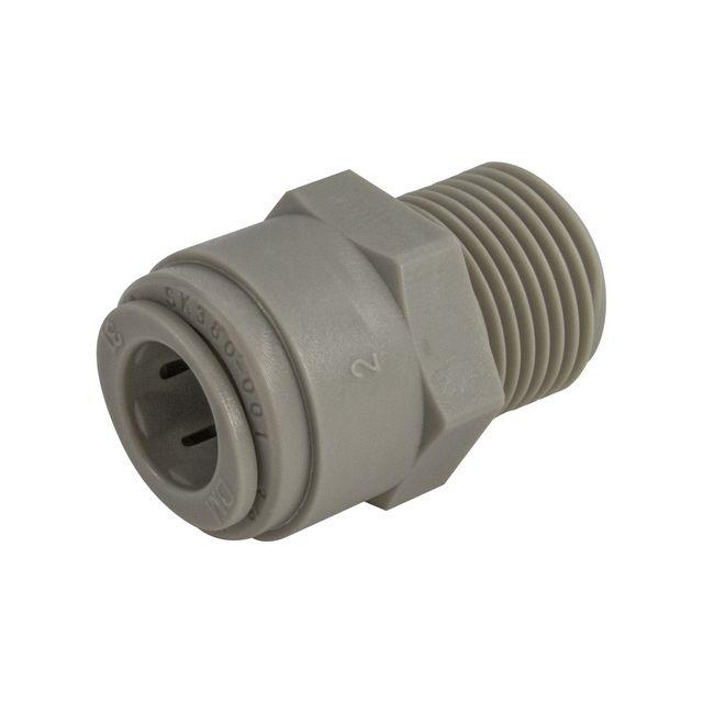 """Złączka męska DMFit AMCBT0606 (3/8"""" tube x 3/8"""" NPTF)"""