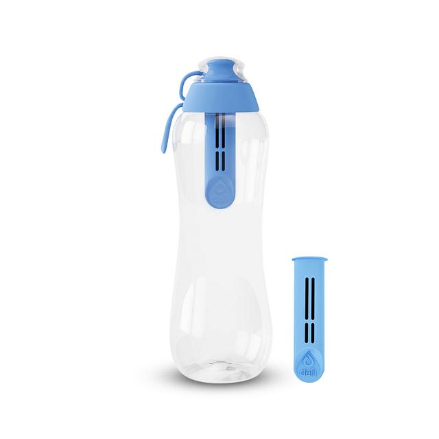 Butelka filtrująca DAFI 0,5L +2 (niebieska)