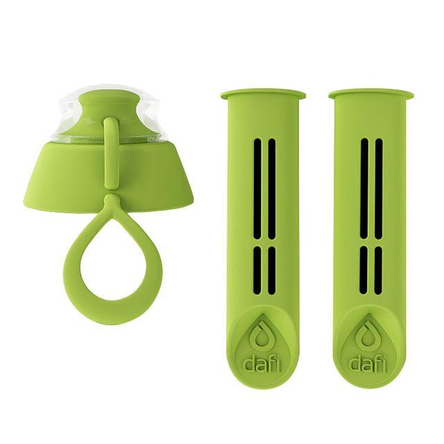 Filtr do butelki DAFI zielony (2szt. + nakrętka)