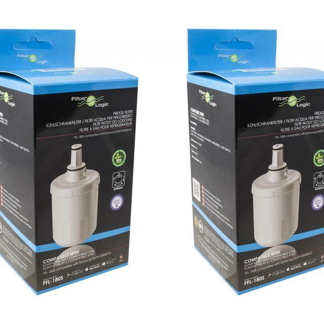 Filtr wkład wody do lodówki Filter Logic FFL-180SK (2szt.)