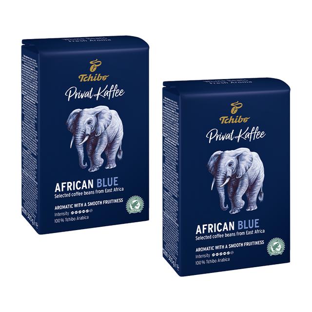 Kawa ziarnista Tchibo Privat Kaffee African Blue 2x500g