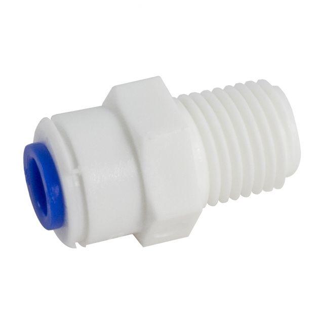 """Złączka męska DMFit AMCBT0404W-BL (1/4"""" tube x 1/4"""" NPTF)"""