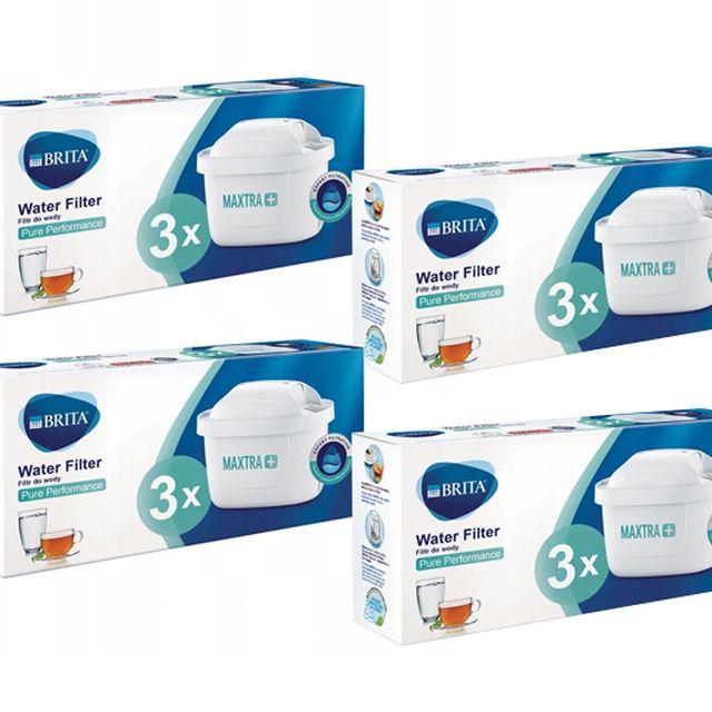 Filtr wody wkład do dzbanka Brita Maxtra+ Pure Performance 4x3szt.
