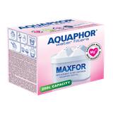 Dzbanek filtrujący Aquaphor Jasper +1 filtr B100-25 +9 filtrów Mg+ (czerwony)