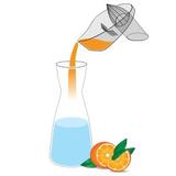 Karafka na wodę DAFI (cliks)