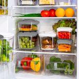 Zestaw pojemników prożniowych do przechowywania żywności DAFI SET5 (stalowy)