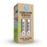 Filtr do butelki DAFI eko / biały (2szt. + nakrętka)
