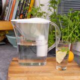 Dzbanek filtrujący wodę Dafi START 2,4L (biały) + 12 filtrów Classic