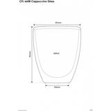 Szklaneczki termiczne do cappuccino Filter Logic CFL-660 (6szt.)