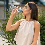Zestaw butelek filtrujących DAFI 0,5L Miętowy/Stalowy (2szt.)