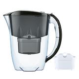 Dzbanek filtrujący Aquaphor Jasper +10 filtrów B100-25 (czarny)