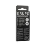Zestaw do konserwacji ekspresu Krups (filtr F088 + odkamieniacz F054 + tabletki czyszczące XS3000)
