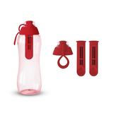 Butelka filtrująca DAFI 0,3L +3 filtry (czerwona)