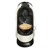Ekspres ciśnieniowy Tchibo Cafissimo Pure (biały) + 500 kapsułek z kawą Tchibo Cafissimo