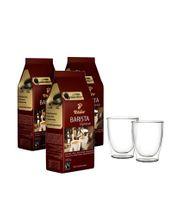 Kawa ziarnista Tchibo Barista Espresso 3kg + szklanki termiczne w zestawie