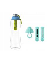 Butelka filtrująca DAFI 0,5L +1 (hybryda) Limitowana Edycja + 2-pack filtrów mięta