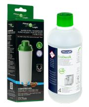 Zestaw do konserwacji ekspresu DeLonghi (filtr CFL-950B + odkamieniacz EcoDecalk 500ml)