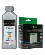 Filtr FilterLogic CFL-903B + odkamieniacz Saeco Evoca 250ml