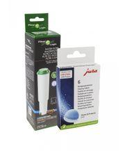 Zestaw do konserwacji ekspresów Jura: filtr CFL801B + tabletki czyszczące Jura 62715