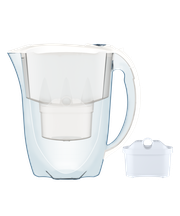 Dzbanek filtrujący Aquaphor Amethyst +1 filtr B100-25 (biały)
